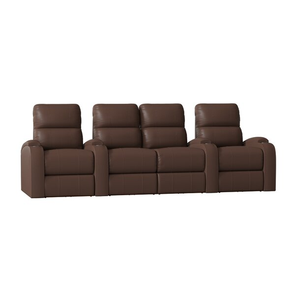 Home Theater Row Seating(Row Of 4) By Winston Porter