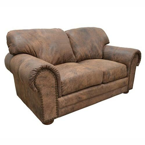 Online Shopping Top Rated Cheyenne Leather Loveseat by Omnia Leather by Omnia Leather