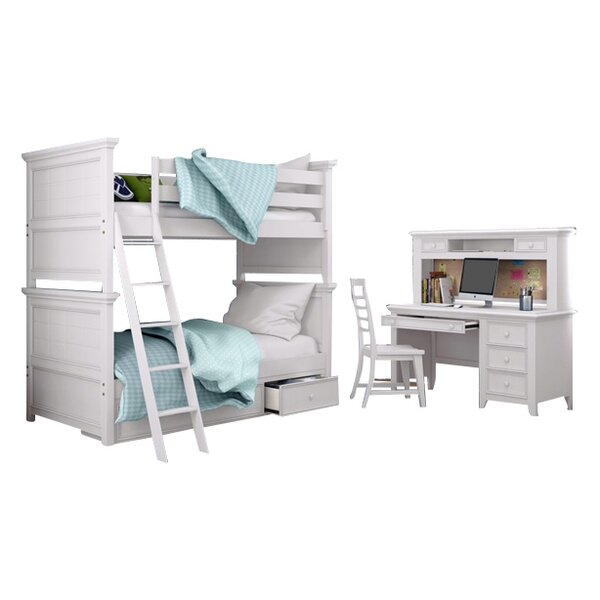 Inwood Standard Bunk Bed Configurable Bedroom Set by Harriet Bee