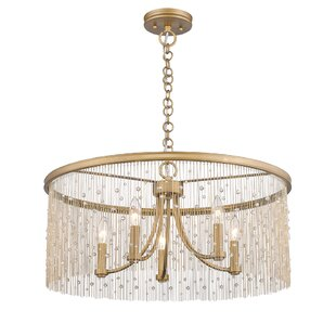 Compare & Buy Latrell 5-Light Drum Chandelier By House of Hampton
