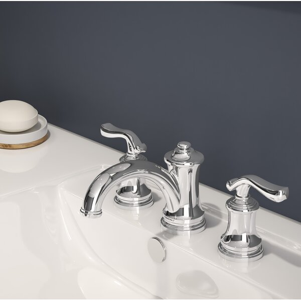 Winslet Widespread Bathroom Faucet with Drain Assembly by Symmons