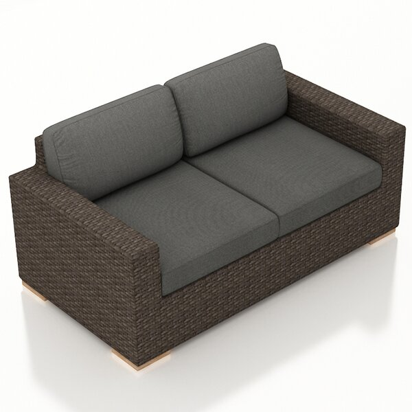 Hodge Loveseat with Cushions by Rosecliff Heights Rosecliff Heights