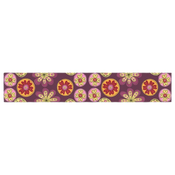 Jane Smith Indian Jewelry Floral Table Runner by East Urban Home