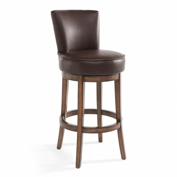 Plumwood 30 Swivel Bar Stool by Darby Home Co