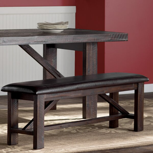 Cadwallader Upholstered Bench by Darby Home Co