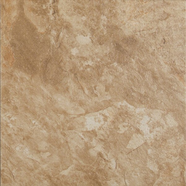Platino Rustico 18 x 18 Porcelain Field Tile in Brown by MSI