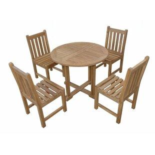 Montage Braxton Teak 5 Piece Dining Set ByAnderson Teak