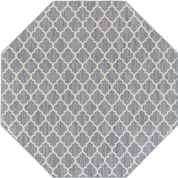 Chesterville Gray/Beige Area Rug by Highland Dunes