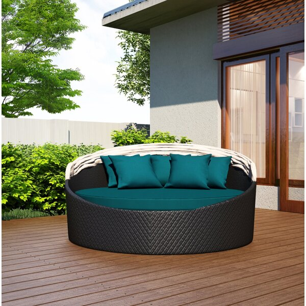 Earnestine Patio Daybed by Canora Grey