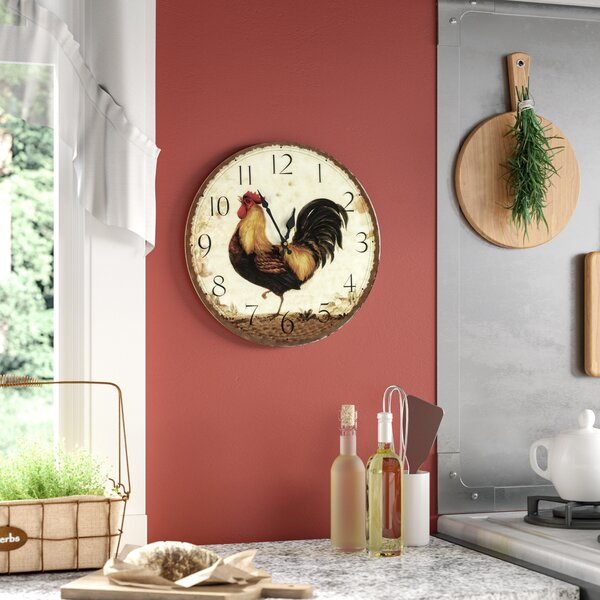 Edmonds 13.5 Wall Clock by August Grove