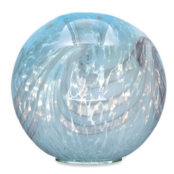 Pearly Glass Gazing Globe by Wind & Weather