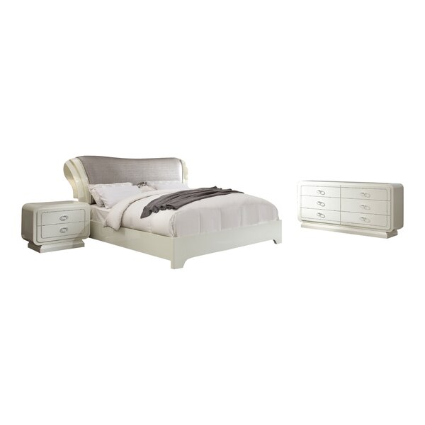 Hassan Sleigh Configurable Bedroom Set by Rosdorf Park