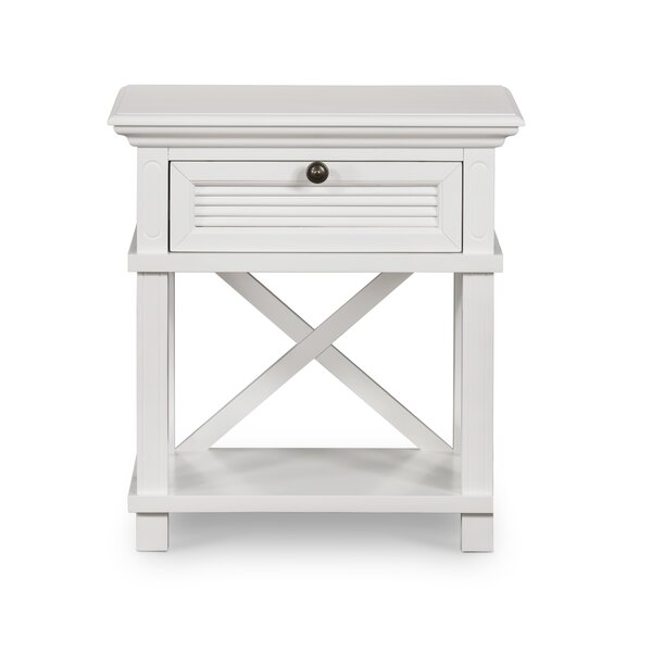 Buendia 1 Drawers Nightstand by Breakwater Bay