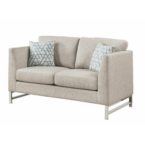 Quarry Loveseat w/2 Pillows by Rosdorf Park