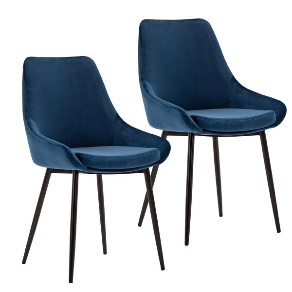 Kendall Upholstered Dining Chair (Set of 2) by Ivy Bronx