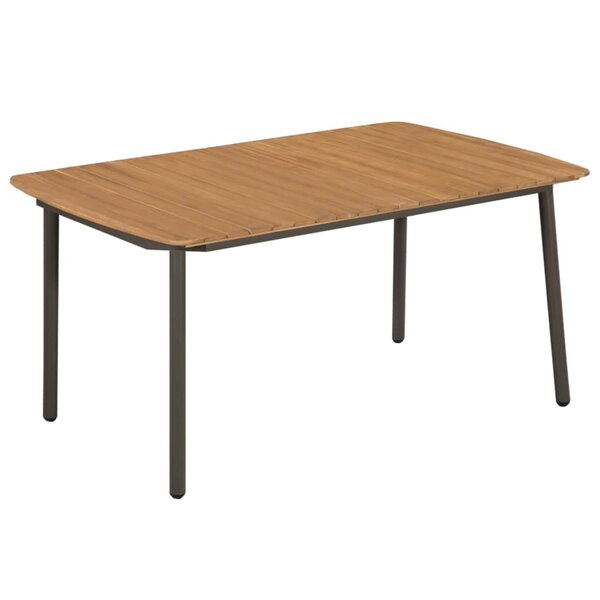 Lerner Wooden Dining Table by Millwood Pines Millwood Pines