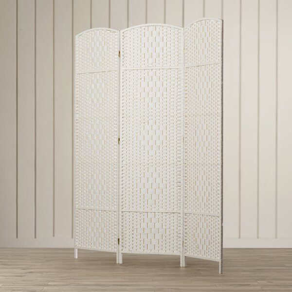 Silvestri 3 Panel Room Divider by Bay Isle Home