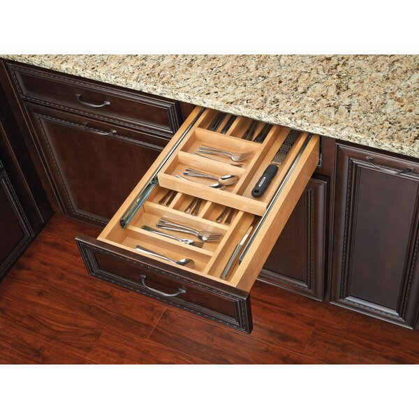 Medium Double Tiered Cutlery Drawer by Rev-A-Shelf