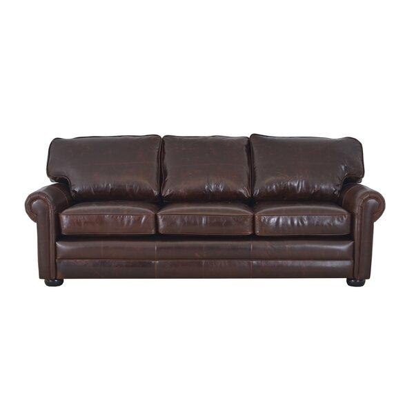 Fenway Genuine Leather Sofa By Westland And Birch