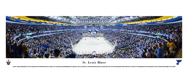 NHL End Zone Photographic Print by Blakeway Worldwide Panoramas, Inc