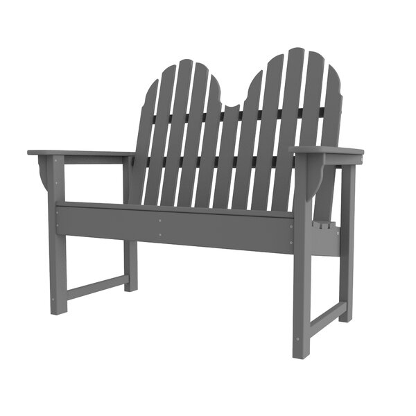 Polywood® Modern Plastic Park Bench by Sol 72 Outdoor