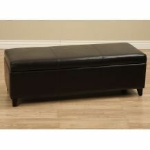 Sharon Faux Leather Storage Bench by Ebern Designs