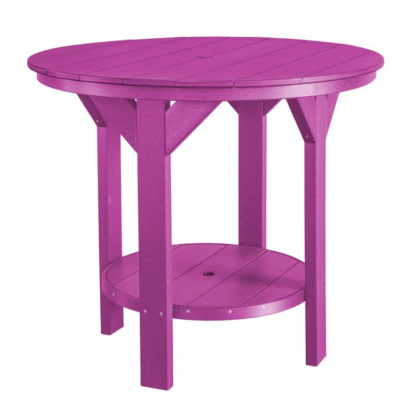 Patricia Plastic/Resin Bar Table By Rosecliff Heights