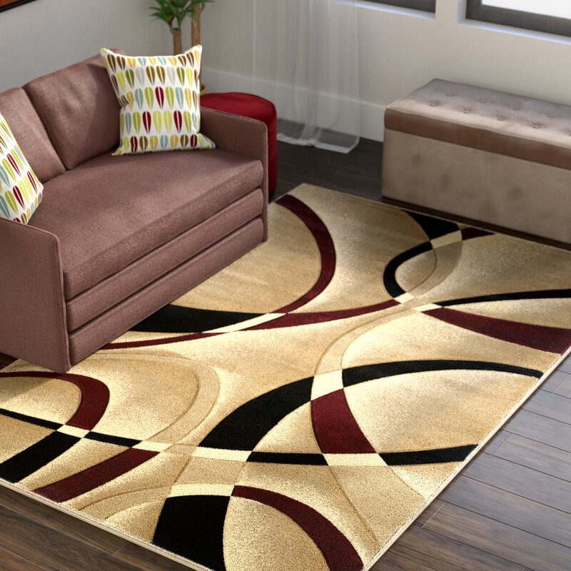 amazon modern dp area living cream ac contemporary red rugs rug clearance burgundy com beige dining room