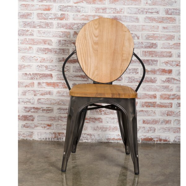 Solid Wood Dining Chair by Fine Mod Imports