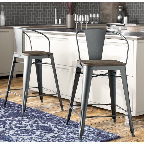 Reedley 25.5 Bar Stool (Set of 2) by Trent Austin Design