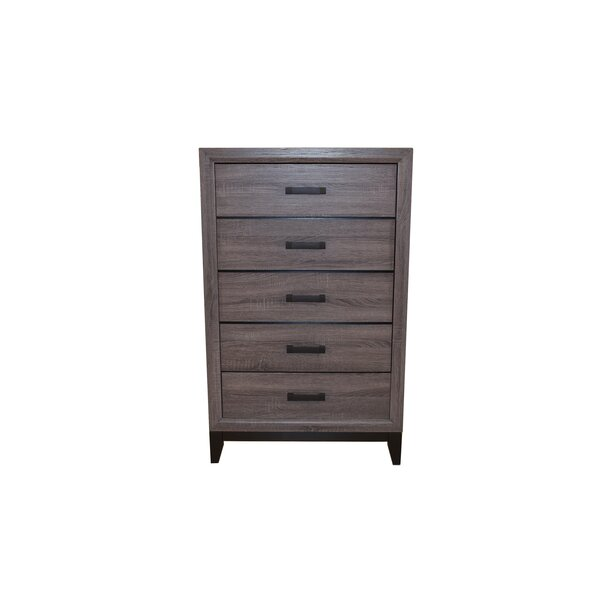 Webster 5 Drawer Dresser/Chest by Union Rustic