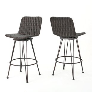 Superieur Prevost Outdoor Wicker Patio Bar Stool (Set Of 2)
