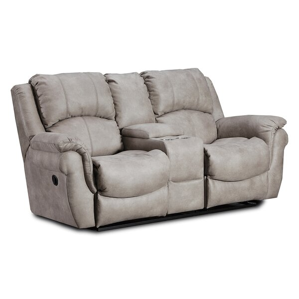 Top Brand Pankey Reclining Loveseat by Red Barrel Studio by Red Barrel Studio