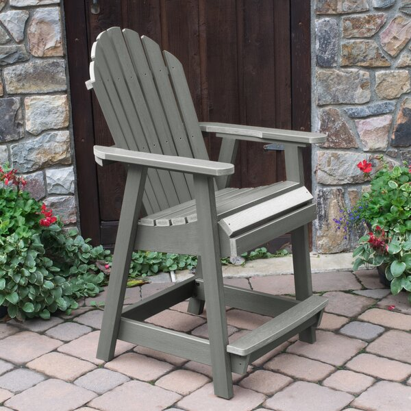 Deerpark Patio Dining Chair by Longshore Tides