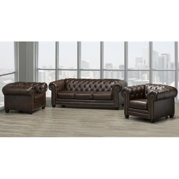 Ornellas 3 Piece Living Room Set by Astoria Grand