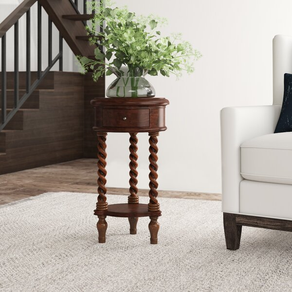 Seven Seas End Table with Storage by Hooker Furniture