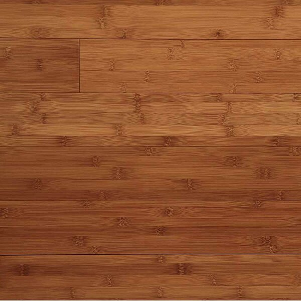 Horizontal 3-3/4 Solid Bamboo Flooring in Caramel by Easoon USA