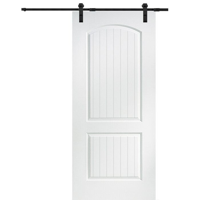 cheap for discount c6173 9c714 Cashal Solid MDF Panelled Slab Interior Barn Door