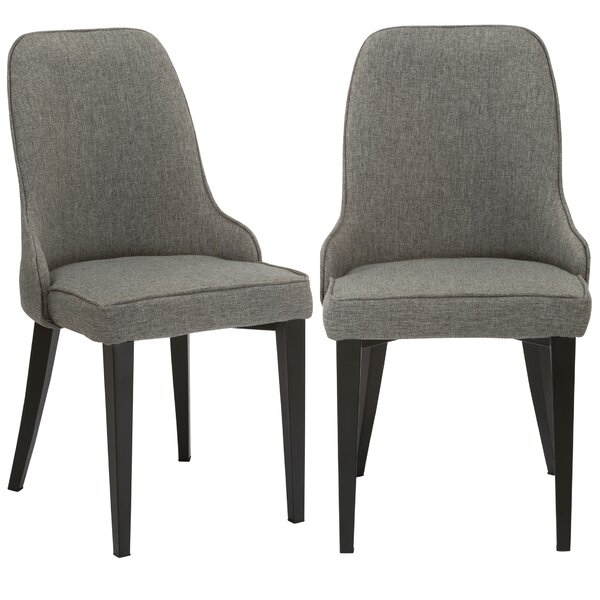 Erasmus Upholstered Dining Chair (Set of 2) by Williston Forge