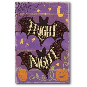 'Fright Night III' Graphic Art Print on Canvas by The Holiday Aisle