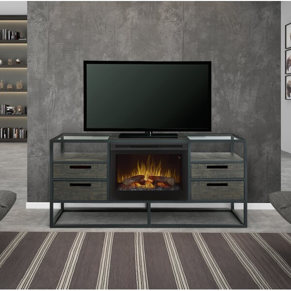 Ivan TV Stand For TVs Up To 65 Inches With Electric Fireplace Included By Dimplex