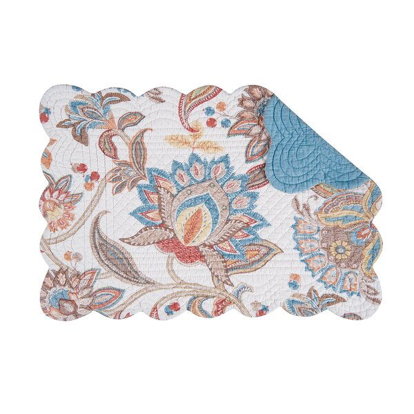 Lucianna Quilted Placemat (Set of 6) by C&F Home
