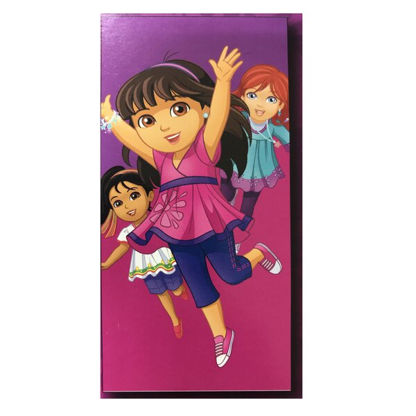 Dora Explorer Beach Towel by Linen Depot Direct