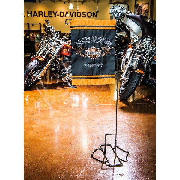 Harley-Davidson® Garden Flagpole by Evergreen Enterprises, Inc