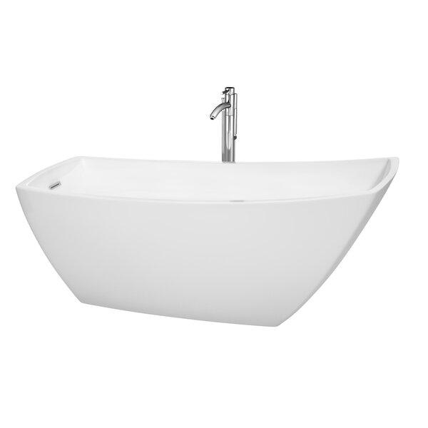 Antigua 67 x 31 Soaking Bathtub by Wyndham Collection