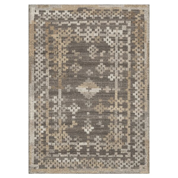 Bentleyville Charcoal/Tan Area Rug by Foundry Select