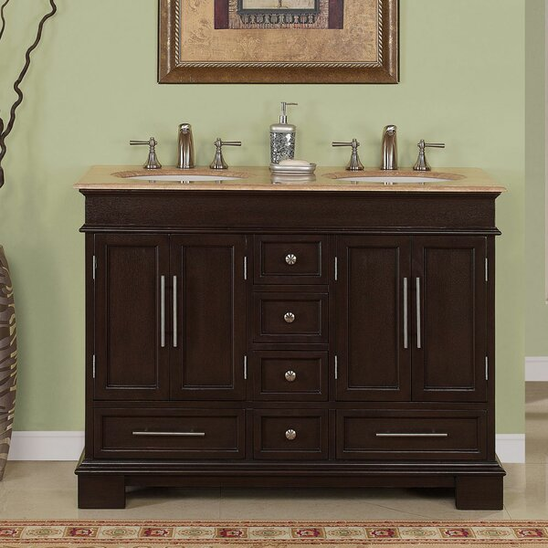 Mcmiller 48 Double Bathroom Vanity Set by Three Posts
