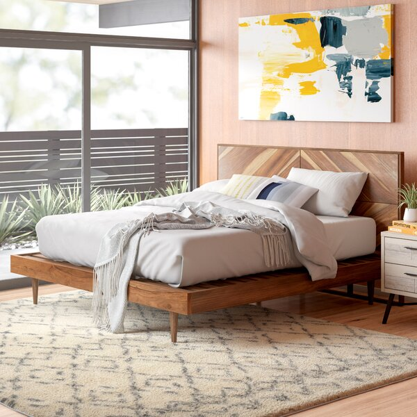 Cora Rose Platform Bed By Union Rustic