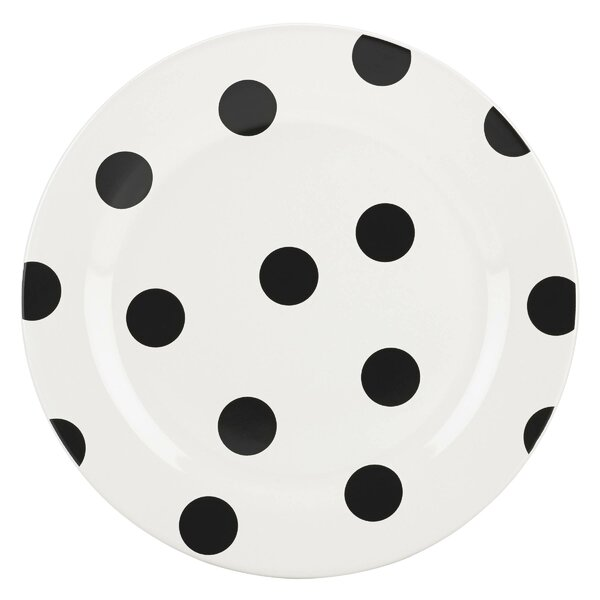 All in Good Taste Deco Dot Accent Plate by kate spade new york