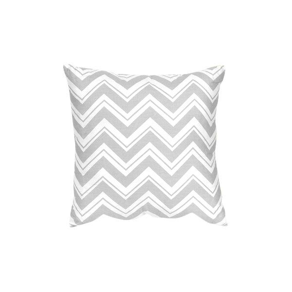 Zig Zag Cotton Throw Pillow by Sweet Jojo Designs